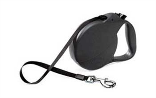 Flexi Explore Retractable Belt Dog Leash, Large, 26-Feet Long, Supports up to 110-Pound, Black, My Pet Supplies