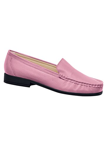 Carol Wright Cadeaux Mocassin En Cuir, Rose, Taille 7-1 / 2 (large)