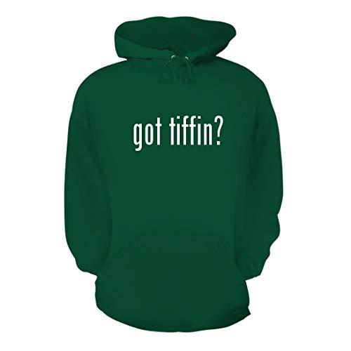 got Tiffin? - A Nice Men's Hoodie Hooded Sweatshirt, Green, Large
