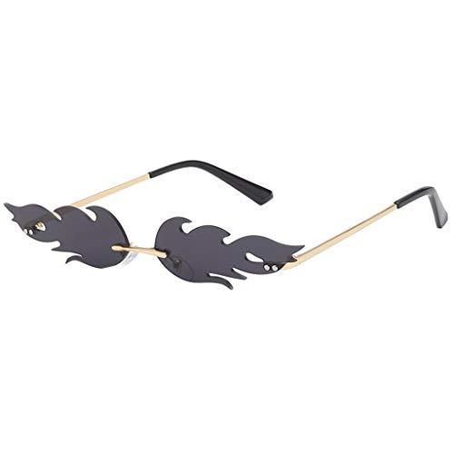 Amazon.com: Berryhot - Gafas de sol retro para hombre y ...