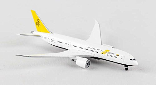 HE528221 Herpa 500 Scale Royal Brunei Airlines B787-8 Model Airplane