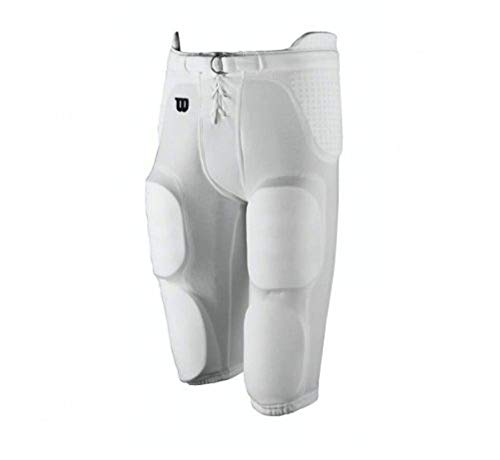 Wilson Youth Football Redi-Play Practice Pant - White (MD)