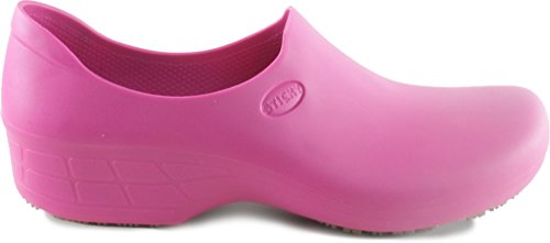 Slip Shoes for Work Waterproof Comfortable Shoes StickyPRO Resistant Pink Women XRxqS