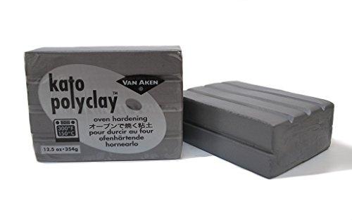 Kato Polyclay Silver 12.5 Oz