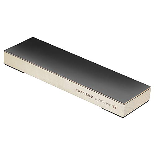 KRAMER by ZWILLING 34999-103 Hardwood Stropping Block with Leather -