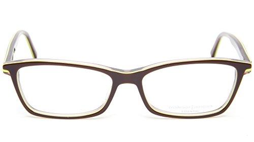 NEW PRODESIGN DENMARK 1759 1 5022 BROWN EYEGLASSES FRAME 55-15-140 LI B33 - Glasses Denmark