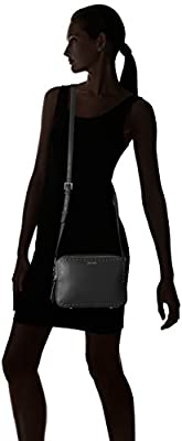 Calvin Klein Avery Pebble Stud Trim Camera Bag Crossbody