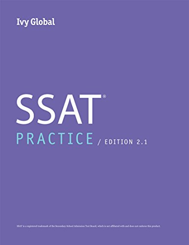 Ivy Global SSAT Practice, 2nd Edition