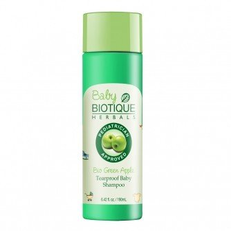 Biotique Bio Green Apple Tearproof Baby Shampoo 190 Ml