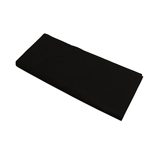 Mekingstudio 60'' X 40'' / 1.5 x 1M Photo Studio Collapsible Fabric Texture Felt Blanket Photography Backdrops Photography Props Background Cloth - Black by Mekingstudio