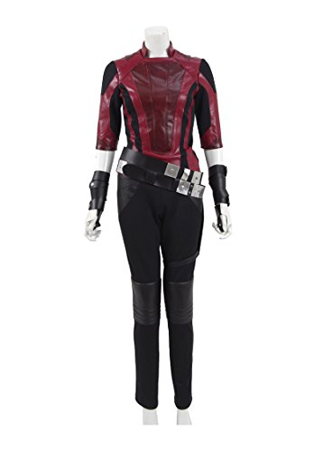 Hot Sci-Fi Movie Guardians Gamor Costume Women Halloween Costume (US Women-L, Red)