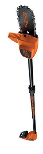 BLACK+DECKER GPC1820L20-GB 20 cm 18 V Pole Pruner with 2 Ah Battery -...
