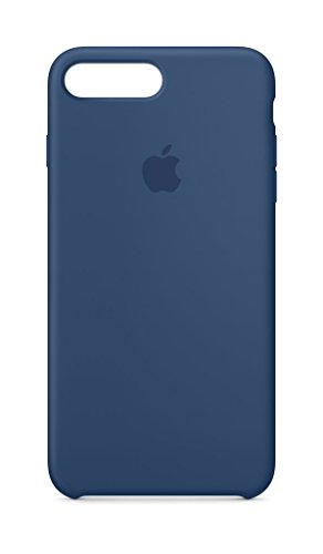 Apple Silikon Case, für iPhone 7/8 Plus, kobaltblau
