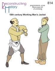 18th Century Working Man's Jacket Pattern