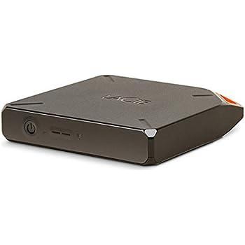 LaCie FUEL 1TB Wireless Storage with Wi-Fi 802.11 b/g/n and USB 3.0 (9000436U)