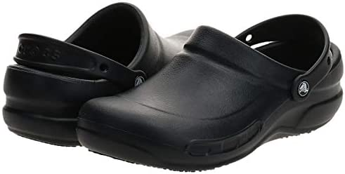 Crocs Unisex-Adult Bistro Clog | Slip Resistant Work Shoes