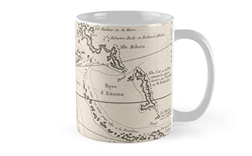 (Vintage Map of The Bahamas (1764) Mug(One Size))