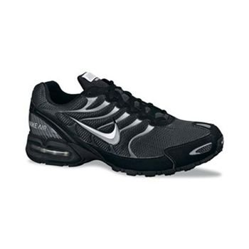 Nike Mens Air Max Torch 4 Running Shoes (9.5 D(M) US, Anthracite/Metallic Silver/Black) by Nike