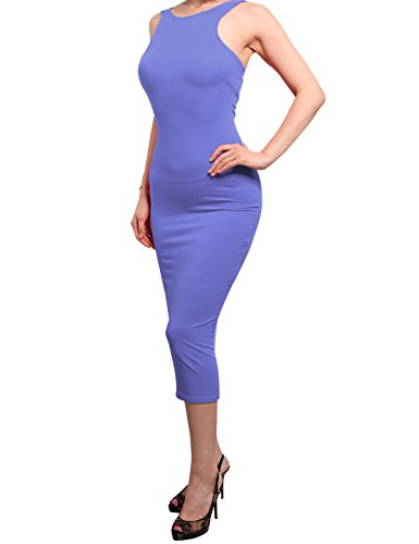 REVENINE Solid Bodycon Party Dress