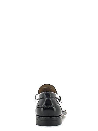 CallagHan 76100 Mocassino Uomo Pelle Seahorse Nero