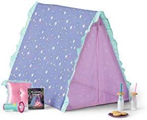 American Girl WellieWishers Star Gazing Garden Tent Set for 14.5″ Dolls