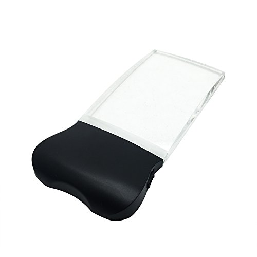 Reading Magnifier, soled Handheld Magnifying, Perfect for Reading,Crafts,Needlework,Jewelry (2X)