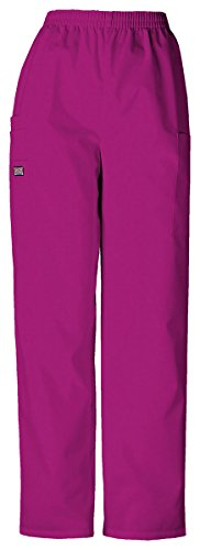 Cherokee Women's Slim Tapered LPull-On Cargo - Pant Cargo Azalea