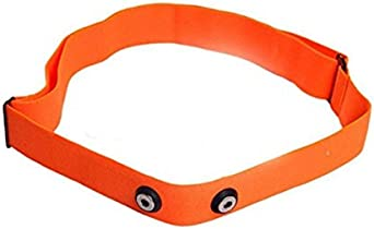 GO-SHOPPING24 Correa suave de color naranja, talla M-XXL, adecuada para Polar H1, H2, H3, H6, H7, H10.