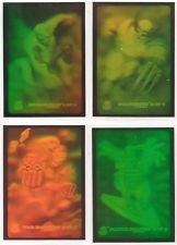 1994 Fleer Marvel Universe Series 5 Complete Hologram Chase 4 Card Set