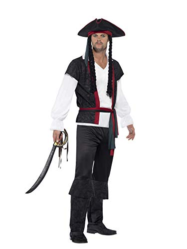 Smiffys Aye Aye Pirate Captain Costume