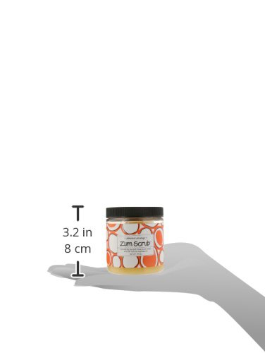 511W2S1L1NL Indigo Wild Zum Body Scrub, Almond-Orange, 13 Ounce