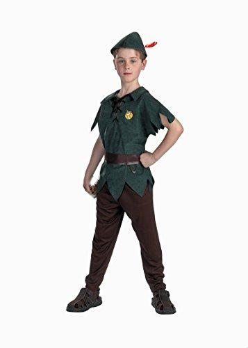 5963 Boys 3T-4T Peter Pan Costume Classic Child Disney Costume ()