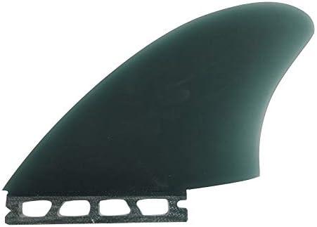 FCS or Future UPSURF Surfboard Twin Keel fin Surf Thruster