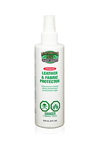 Moneysworth & Best Shoe Care Leather & Fabric Protector Spray, 8-Ounce
