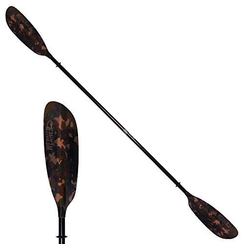 Werner Camano Hooked Kayak Fishing Paddle-StealthCamo-250cm