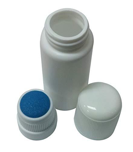 (Plastic Bottle Sponge Top Empty Plastic Container Liquid Medicine Bottles 1.01oz Refillable)