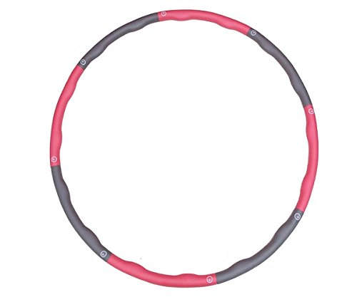 New Abdominal Fitness Hula Hoop Exercise Foam Massage Hoola For Exercise