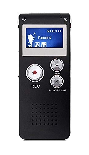 Digital Voice Recorder,Lyyes USB Rechargeable Digital Sound Voice Recorder for Lectures/Meetings/Interviews/Class (8GB)