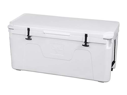 Monoprice Emperor Cooler - 160 Liters - White | Securely Sealed, Keeps Cold for 130 Hours & Hot for 150 Hours - Pure Outdoor Collection by Monoprice (Image #6)