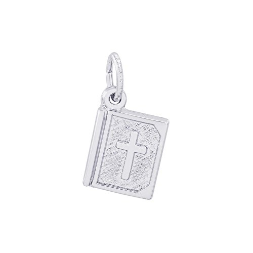 Rembrandt Sterling Silver Bible Charm (Sterling Bible Silver)