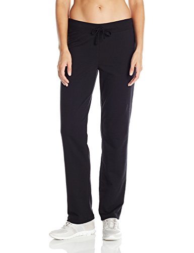 Hanes Women's French Terry Pant, Black, X-Large