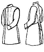 (Senior Officer Frock Coat Pattern - Medium (40-44