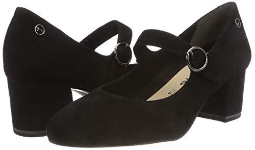 Tamaris black Para Negro Tacón Zapatos 24401 De 1 Mujer 21 r8wpqrR