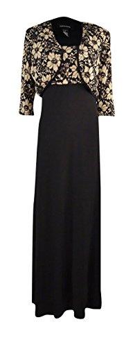 R & M Richards Lace Topper Jacket & Dress Size 8