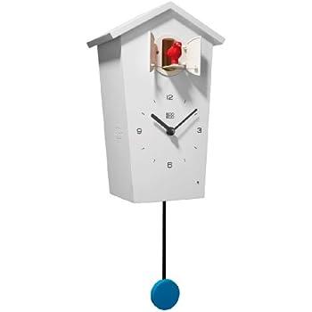 Amazon Com Shemuyu Modern Decorative Pendulum Wall Clock