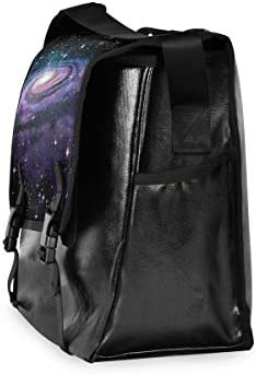 メッセンジャーバッグ メンズ 銀河 惑星 星空 斜めがけ 肩掛け カバン 大きめ キャンバス アウトドア 大容量 軽い おしゃれ