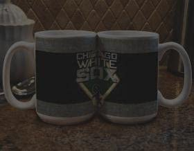 One Size Team Color The Memory Company MLB Chicago White Sox Coffee MugFelt Style