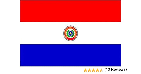 Durabol Gran Bandera de Paraguay 150 x 90 cm Satén América del Sur Flag: Amazon.es: Hogar