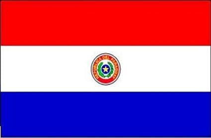 Gran Bandera de Paraguay 150 x 90 cm Satén América del Sur ...