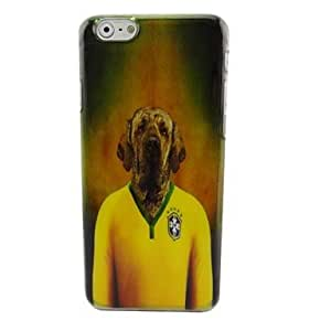 PG Brazil Cool Dog Plastic Hard Back Cover for iPhone 6 Plus